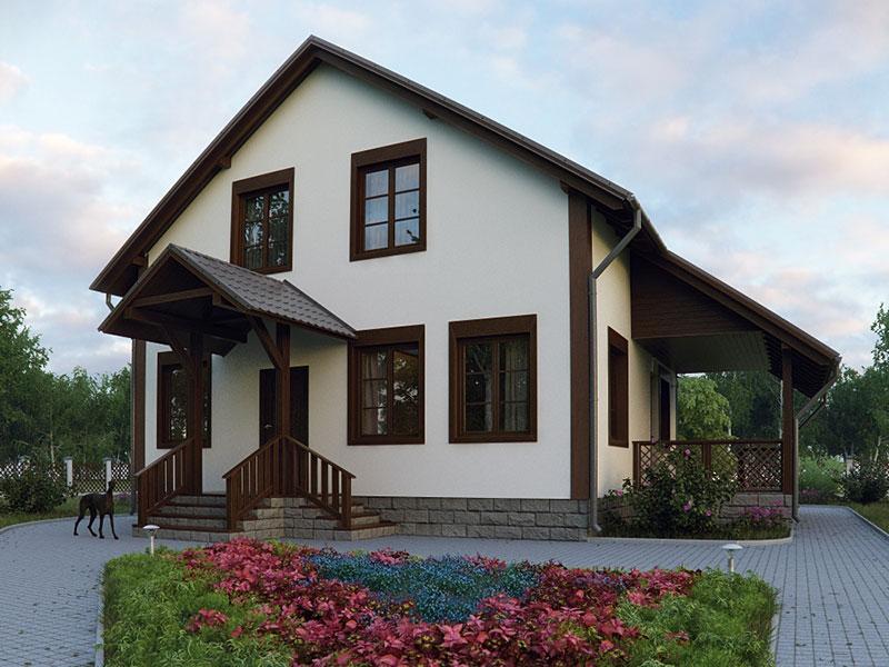 Проект дома - Тамак