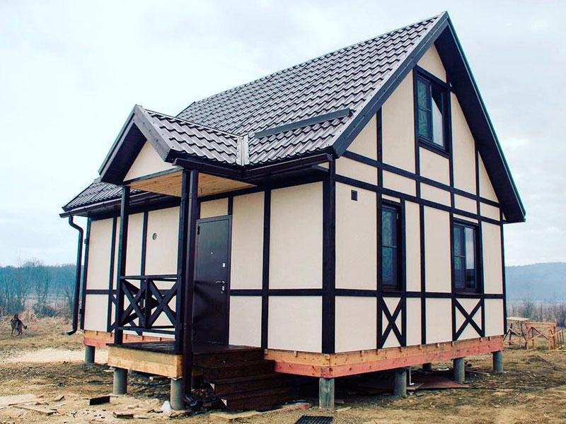 Строительство каркасных домов в Туле